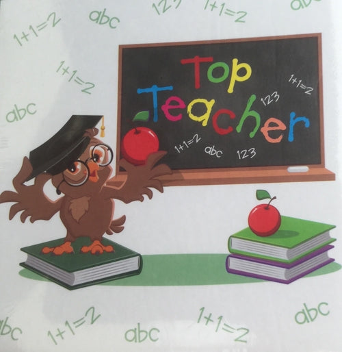 Top Teacher Desk Pad And Pen