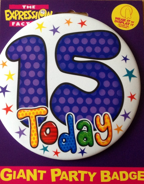 15 Today Stars Jumbo Badge