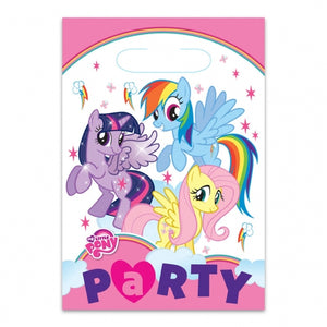 My Little Pony Party Loot Bags x8