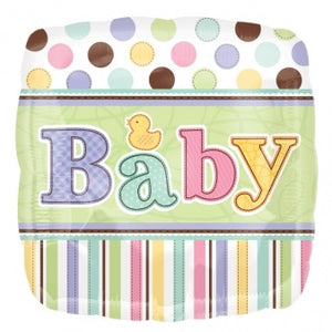 Tiny Bundle Baby Shower/New Baby Helium Filled Foil Balloon