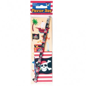 Pirate Party Favour Stationery Set
