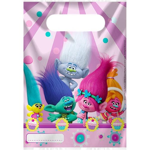 Trolls Party Loot Bags x6