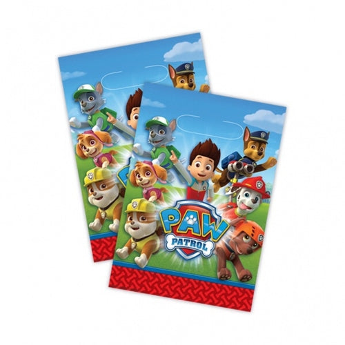 Paw Patrol Party Loot Bags x8