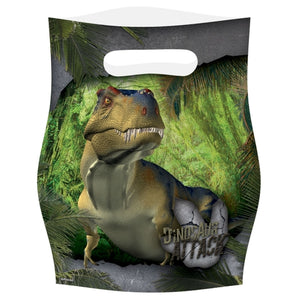 Dinosaur Attack Party Loot Bags x8