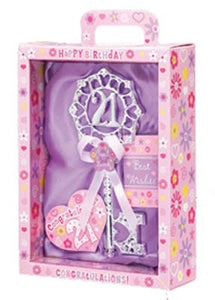 21st Birthday Female Key