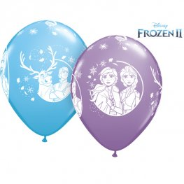Disney Frozen II Latex Balloon (6 Pack)