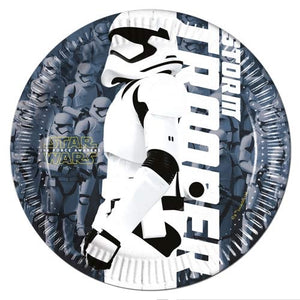 Star Wars Paper Party Plates 19.5cm x8