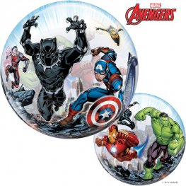 Avengers Assemble 2-Sided Helium Filled Single Bubble Balloon