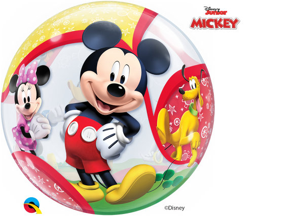 Mickey Mouse Clubhouse 2-Sided Helium Filled Single Bubble Balloon