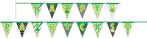Happy St Patrick's Day Flag Banner Bunting