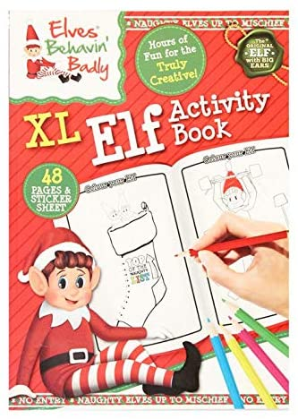 XL Elf Activity Book