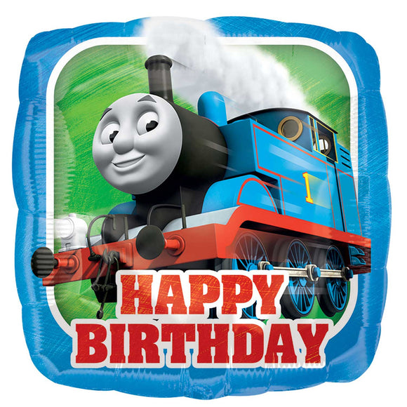 Thomas The Tank Engine Happy Birthday Helium Filled Foil Balloon