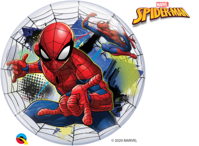 Spider-Man 2-Sided Helium Filled Single Bubble Balloon