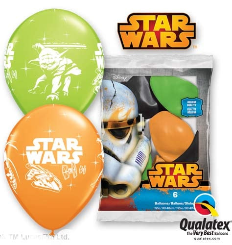 Star Wars Latex Balloons (6 Pack)