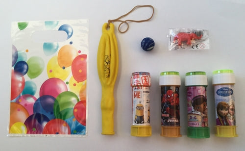 Balloons Pre-Filled Party Loot Bag