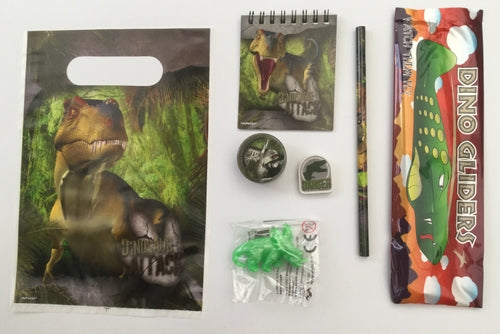 Dinosaur Attack Pre-Filled Party Loot Bag