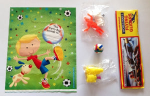 Football Boy Pre-Filled Party Loot Bag