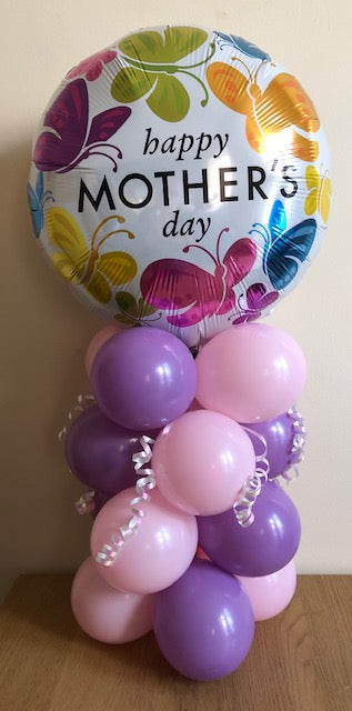 Mother's Day Air Filled Table Decoration Available In 10 Designs