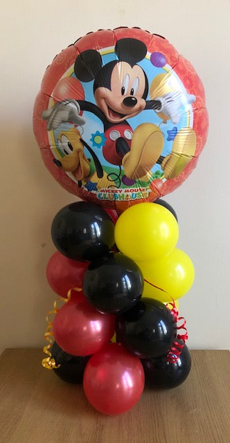 Mickey Mouse Air Filled Table Decoration In A Choice Of 2 Designs