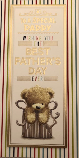 To A Special Daddy Father's Day Greeting Card