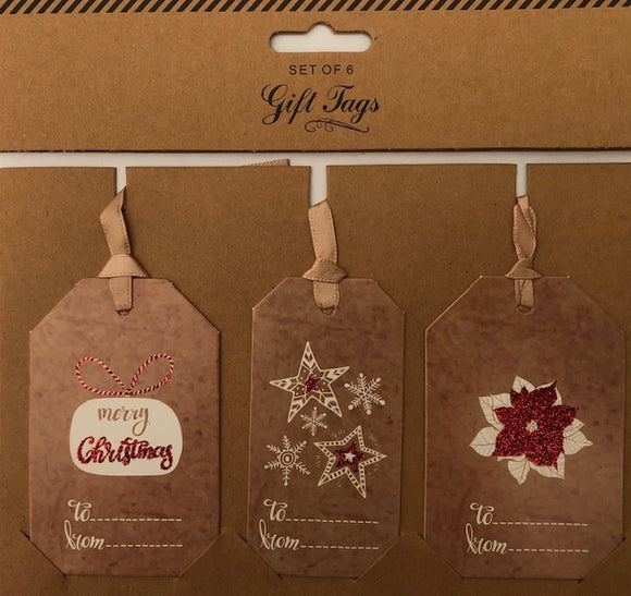 Christmas Gift Tags (Pack of 6)