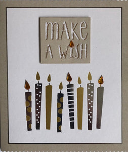Make A Wish Birthday Greeting Card