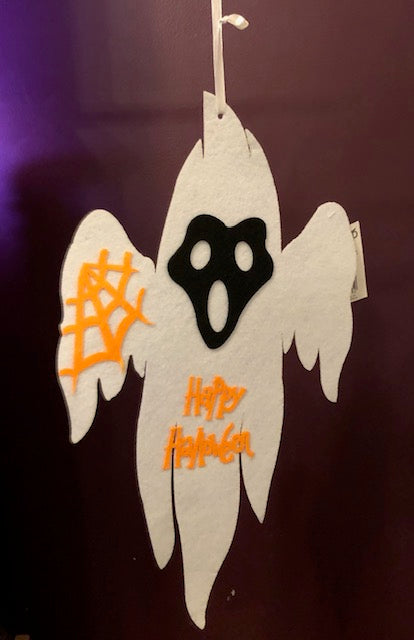 Felt Happy Halloween Ghost Hanging Decoration