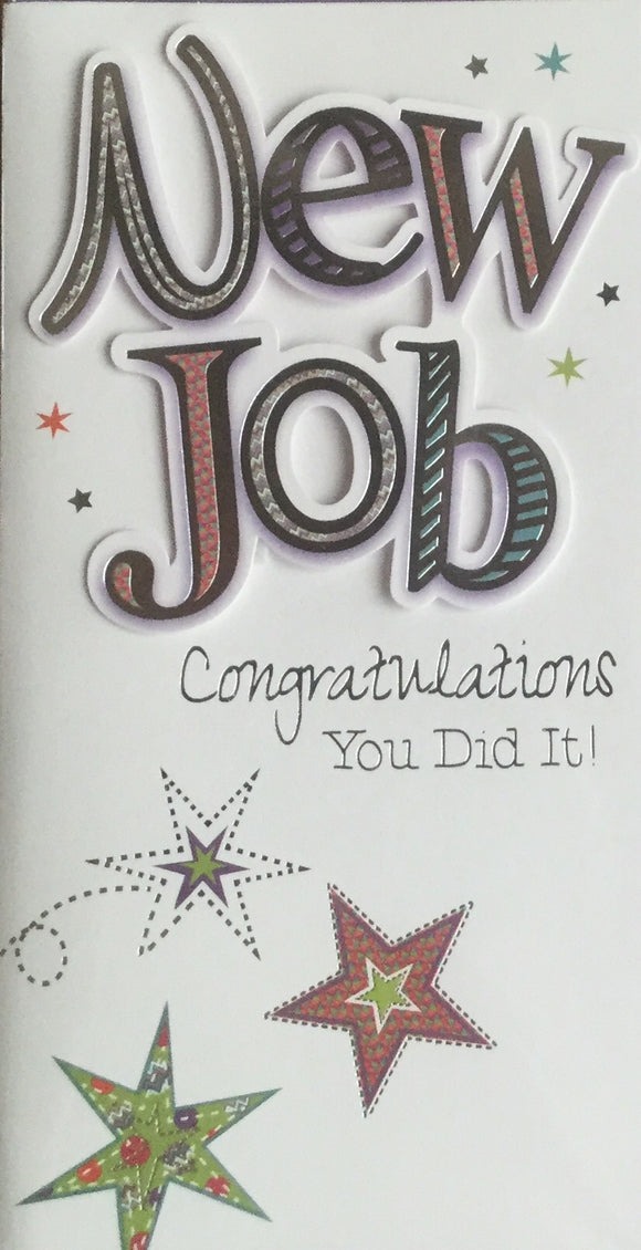 New Job Greeting Card