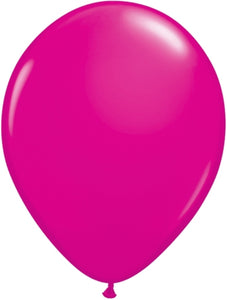Wild Berry Latex Balloon (Sold loose)