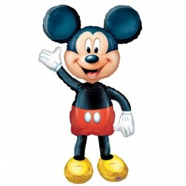 Mickey Mouse Helium Filled Air Walker Foil Balloon