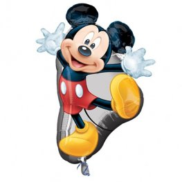 Mickey Mouse Full Body Supershape Helium Filled Foil Balloon