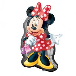 Minnie Mouse Full Body Supershape Helium Filled Foil Balloon