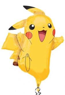 Pokemon Pikachu Supershape Helium Filled Foil Balloon