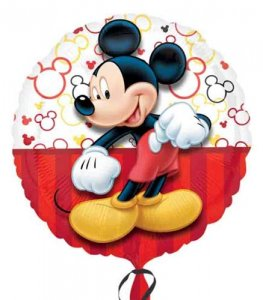 Mickey Mouse Helium Filled Foil Balloon