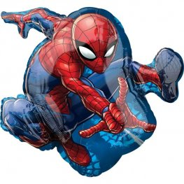 Spiderman Supershape Helium Filled Foil Balloon