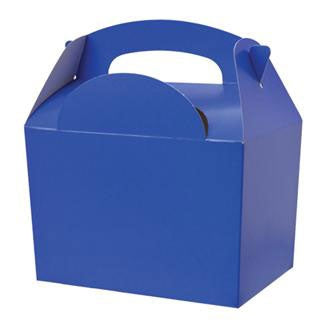 Blue Party Food Box