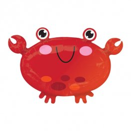 Crab Junior Shape Helium Filled Foil Balloon