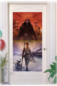 "Star Wars ""The Party Is Here"" Plastic Door Banner"