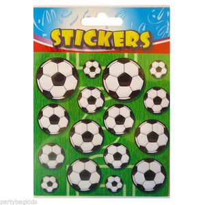Football Stickers - 1 Sheet In A Sealed Packet