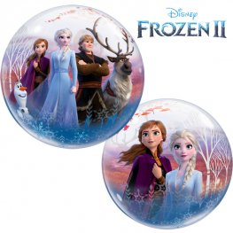 Disney Frozen 2-Sided Helium Filled Single Bubble Balloon