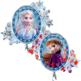 Disney Frozen II 2-Sided Supershape Helium Filled Foil Balloon