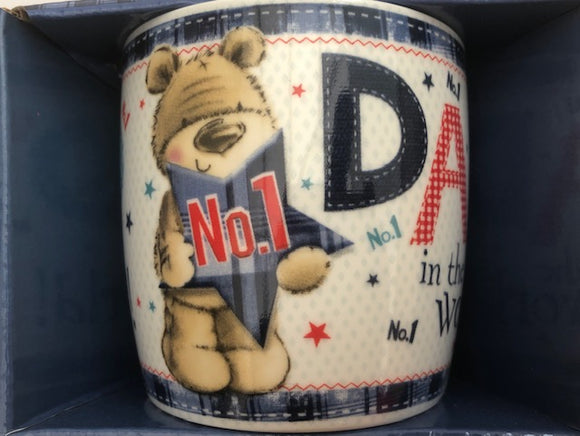 No.1 Dad In The World Mug