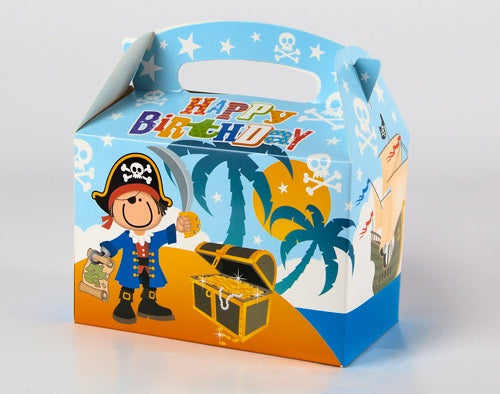 Pirate Party Food Boxes (6 Pack)