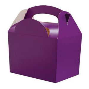 Purple Party Food Box