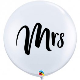 Mrs Jumbo Wedding Balloon