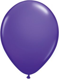 Purple Violet Latex Balloon (Sold loose)