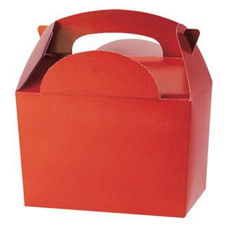 Red Party Food Box