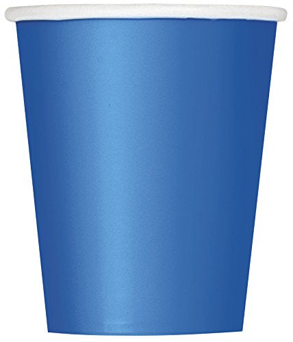 Royal Blue Paper Party Cups x14