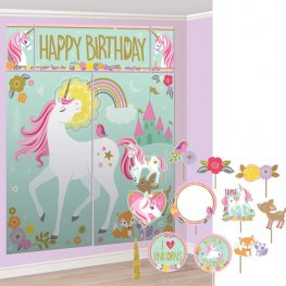 Magical Unicorn Scene Setter With Photo Props