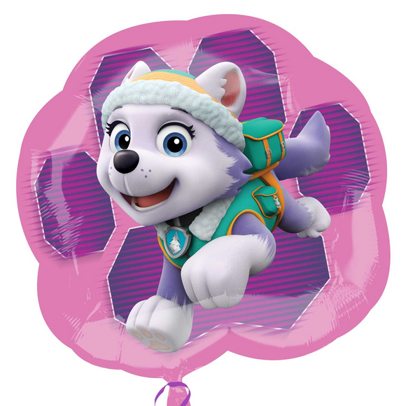 Paw Patrol Skye And Everest 2-Sided Supershape Helium Filled Foil Balloon